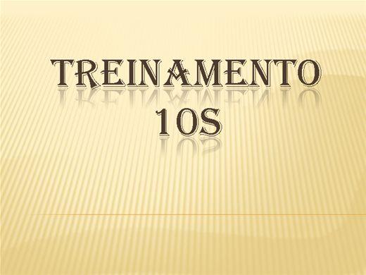 Curso Online de Trenamento 10s