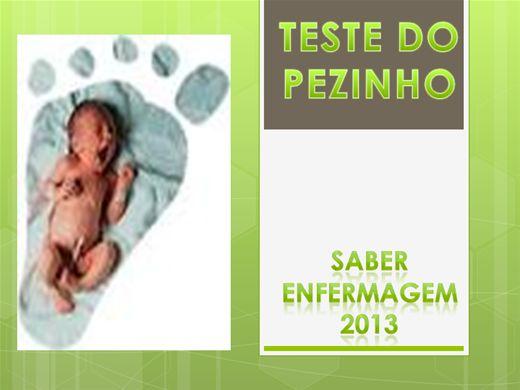 Curso Online de TESTE DO PEZINHO