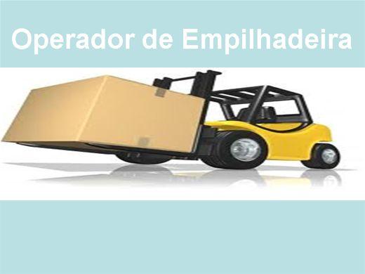 Curso Online de Operador de Empilhadeira