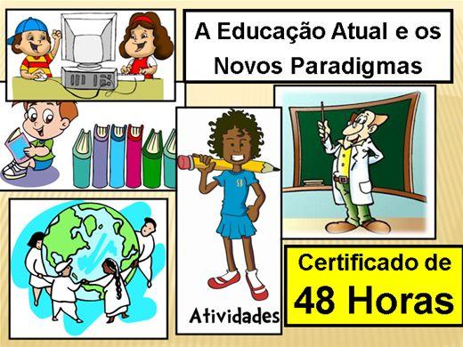 Curso Online de Educação Atual e seus Paradigmas