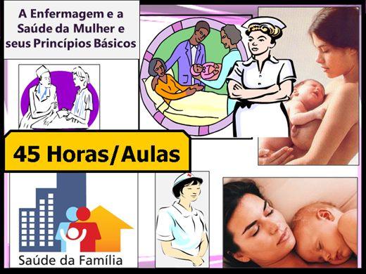 Curso Online de Enfermagem e a Saúde da Mulher e seus Princípios Básicos