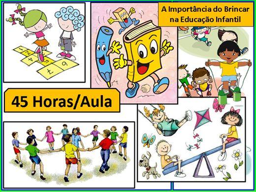 Curso Online de A Importância do Brincar na Educação Infantil