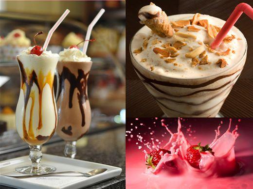 Curso Online de Receitas de Milk Shake