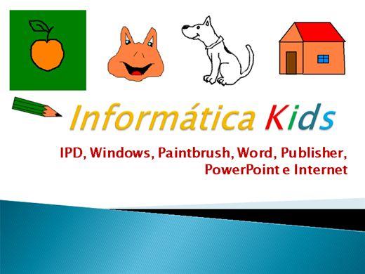 Curso Online de Curso Completo de Informática Kids