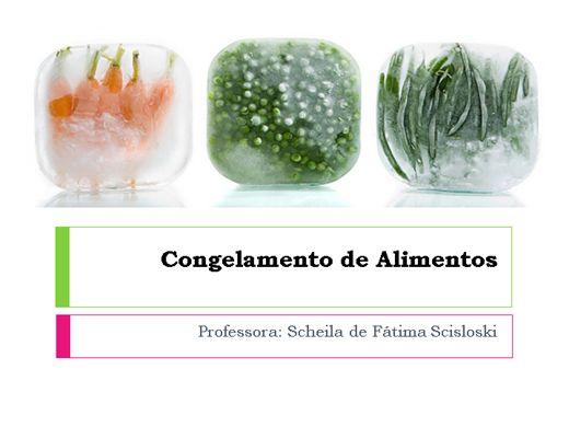 Curso Online de Curso Online de Técnicas de Congelamento de Alimentos