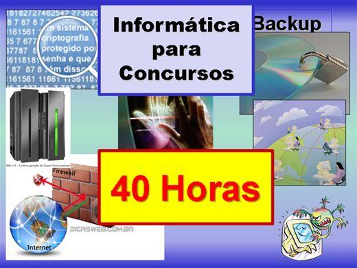 Curso Online de Curso Online de Informática Para Concursos - Conceitos Básicos