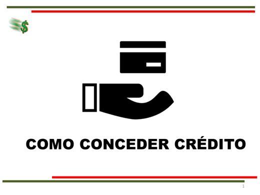 Curso Online de Como Analisar e Conceder Crédito