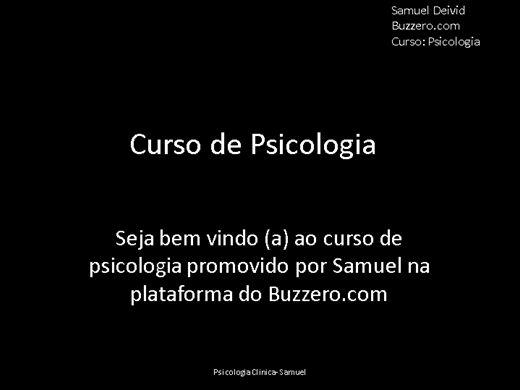 Curso Online de Psicologia Clinica