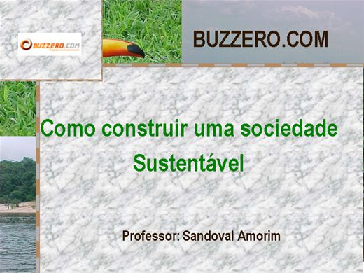 Curso Online de Como construir uma sociedade sustentável
