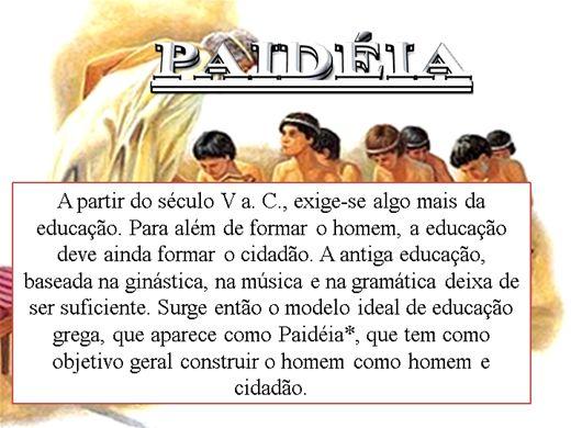 Curso Online de PAIDÉIA