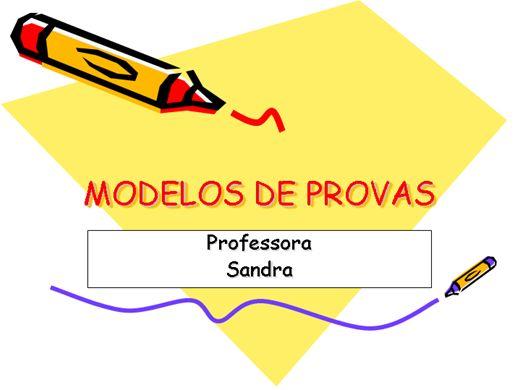 Curso Online de MODELOS DE PROVA DE LÍNGUA PORTUGUESA 1º ANO