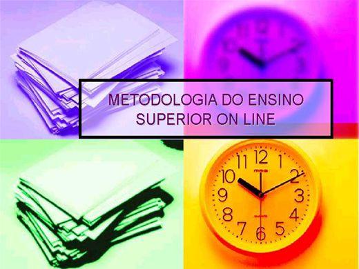 Curso Online de Metodologia da educação Superior on line