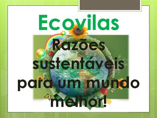 Curso Online de Ecovilas - Razões sustentáveis para um mundo melhor!