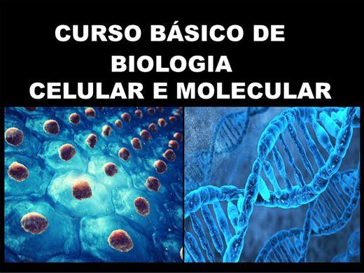 Curso Online de Biologia molecular e celular