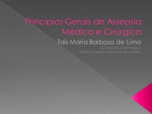 Curso Online de Princípios Gerais de Assepsia Médica e Cirúrgica