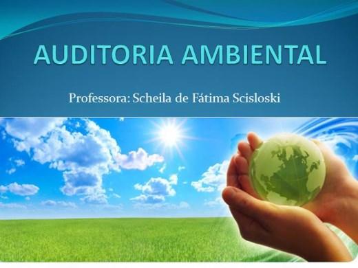 Curso Online de Auditoria Ambiental