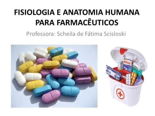 Curso Online de Fisiologia e Anatomia Humana para Farmacêuticos II