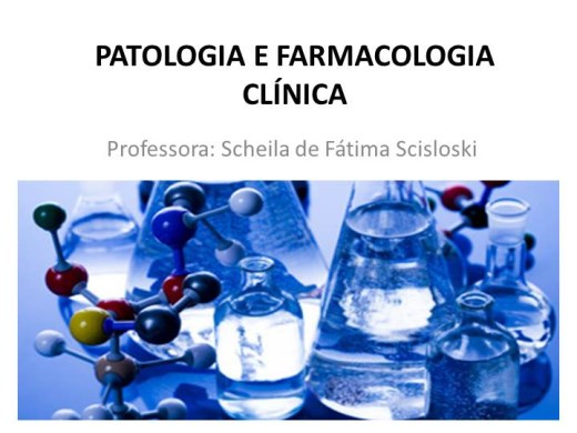 Curso Online de Patologia e Farmacologia Clínica