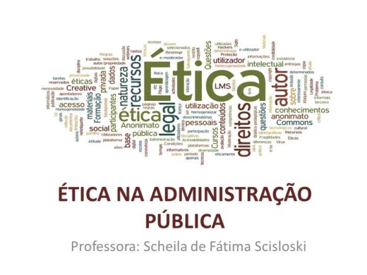 Curso Online de A Ética na Administração Pública