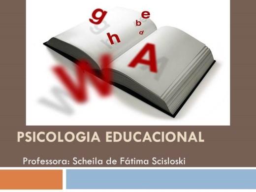 Curso Online de Psicologia Educacional
