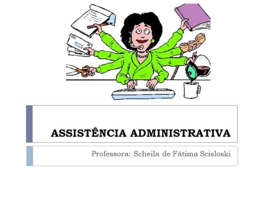 Curso Online de Assistência Administrativa