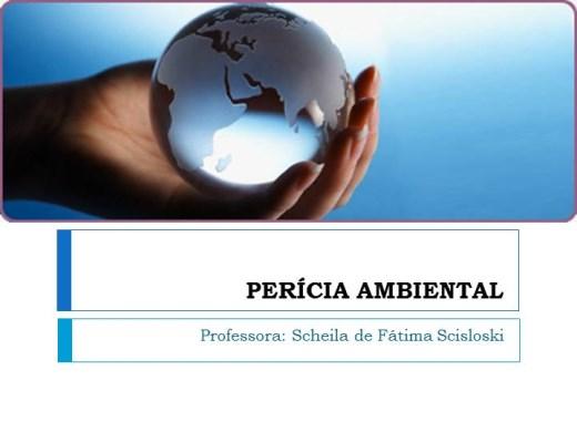 Curso Online de Perícia Ambiental