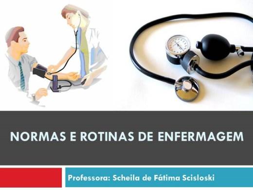 Curso Online de Normas e Rotinas de Enfermagem