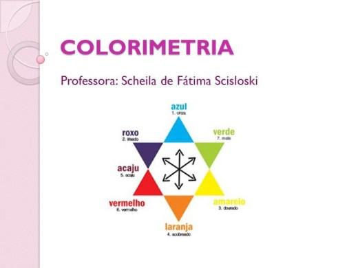 Curso Online de Colorimetria