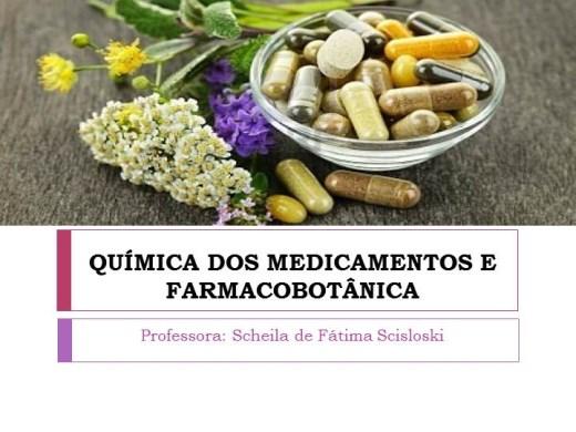 Curso Online de Química dos Medicamentos e Farmacobotânica