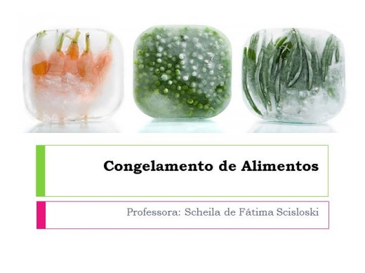 Curso Online de Técnicas de Congelamento de Alimentos