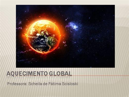 Curso Online de Aquecimento Global e Suas Consequências
