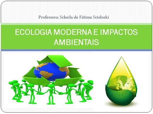 Curso Online de Ecologia Moderna e Impactos Ambientais