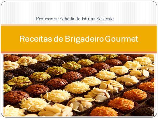Curso Online de Receitas de Brigadeiro Gourmet