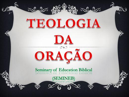 Curso Online de TEOLOGIA DA ORAÇÃO