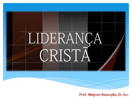 Curso Online de LIDERANÇA CRISTÃ
