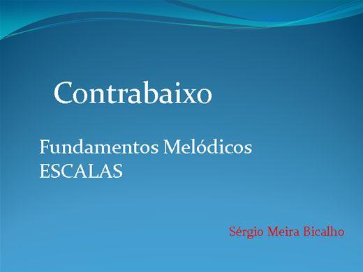 Curso Online de Contrabaixo Fundamentos Melódicos