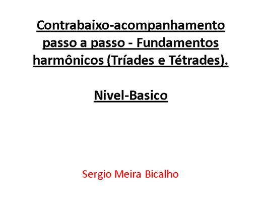 Curso Online de Curso de Contrabaixo- fundamentos Harmonicos