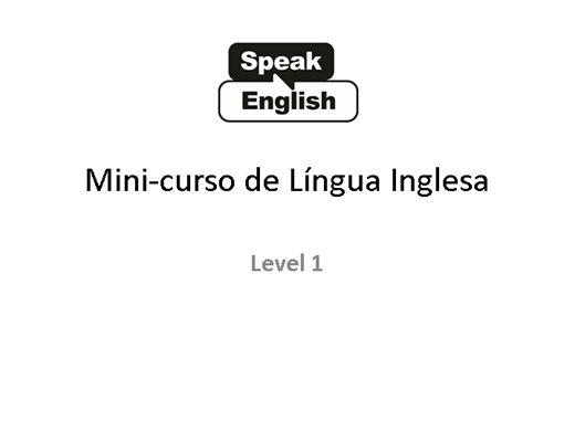 Curso Online de Inglês Fácil e Prático para aprender de verdade - 1
