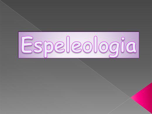 Curso Online de Curso - Turismo de Aventura - Espeleologia