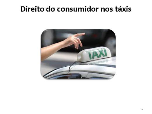 Curso Online de Direitos do consumidor nos táxis