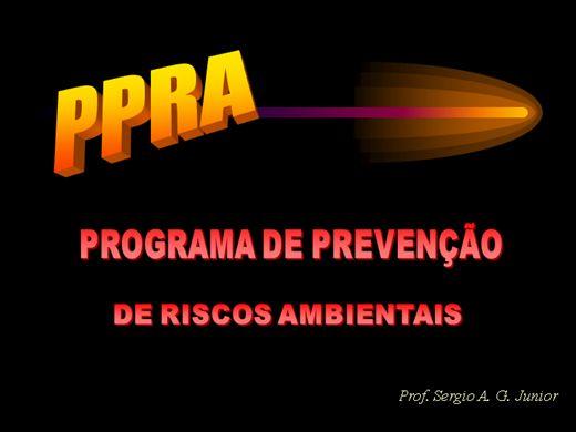 Curso Online de Programa de Prevenções de Riscos Ambientais(PPRA)