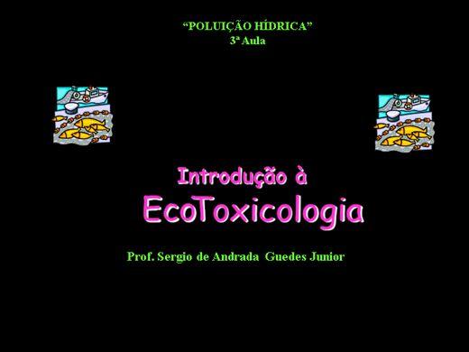 Curso Online de Introdução a Ecotoxicologia