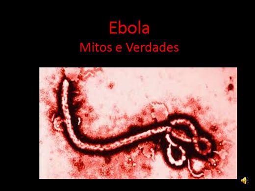 Curso Online de Ebola mitos e verdades