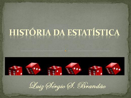 Curso Online de História da Estatística