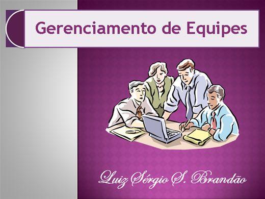 Curso Online de Gerenciamento de Equipes