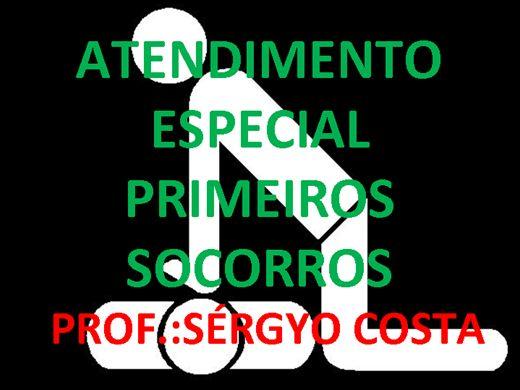 Curso Online de ATENDIMENTO ESPECIAL PRIMEIROS SOCORROS