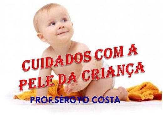 Curso Online de CUIDADOS COM A PELE DA CRIANÇA