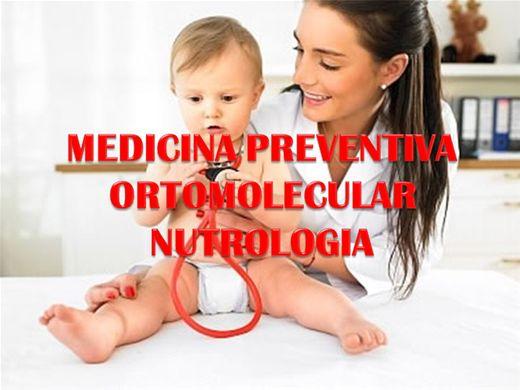 Curso Online de MEDICINA PREVENTIVA ORTOMOLECULAR E NUTROLOGIA