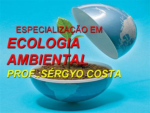 Curso Online de ESPECIALIZAÇÃO EM ECOLOGIA AMBIENTAL