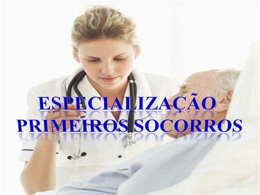 Curso Online de ESPECIALIZAÇÃO PRIMEIROS SOCORROS